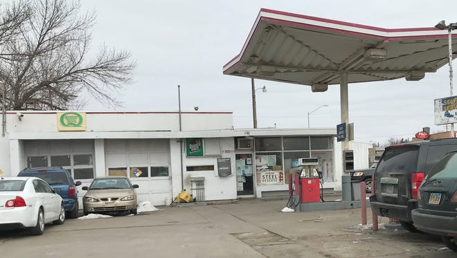 Selmata Mini Market, at 812 E. 10th Street in Sioux Falls. The city has sued the store's managers and owners to force removal of two underground gas storage tanks.