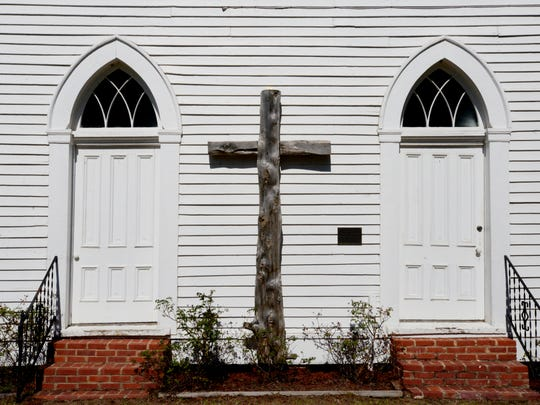 Keachi Presbyterian Church was founded as Bethel Presbyterian in 1848 and moved 10 miles in 1856, the date of the church building. It is one of four Keachi churches left $50,000 in the will of the late Marjorie Schuler.
