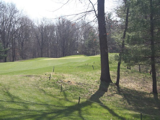 The No. 5 on the Natural Course at Binder Park Golf