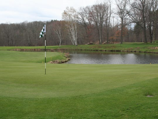 The challenges of hole No. 17 at the East Course at