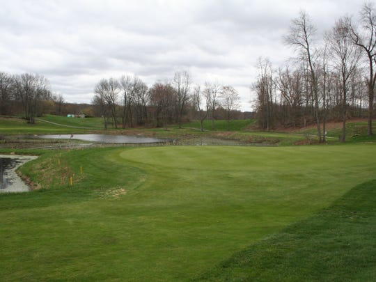 One of the best holes at Gull Lake View Golf Club Stonehedge