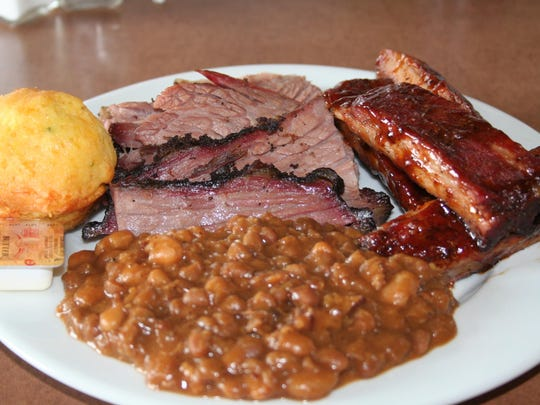 Brisket and ribs are a staple at Redline BBQ Smokehouse - now located at Riverside Golf Club.