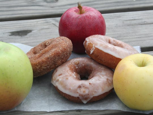 You can have your pick of apples and doughnuts at Gull Meadow Farms in Richland.