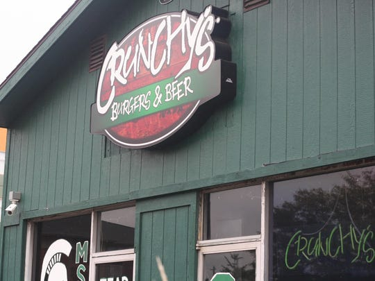 Crunchy's is near the campus of Michigan State University.