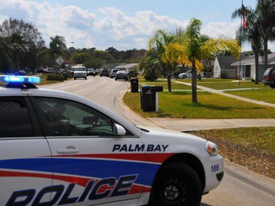 Palm Bay police investigated a device suspected of being a possible grenade