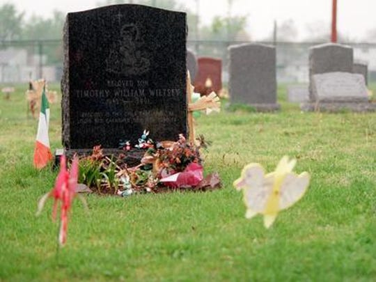 Timothy Wiltsey's grave