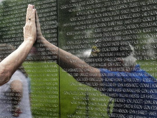 The Vietnam Veterans Memorial in Washington, D.C. A smaller, mobile version of the wall will come to Livonia in 2019, the city announced.