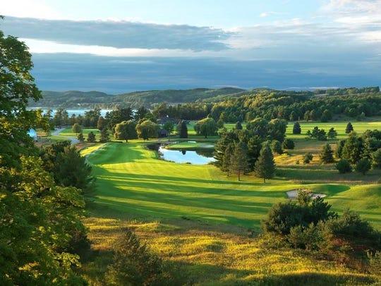 Monument Golf Course at Boyne Mountain.