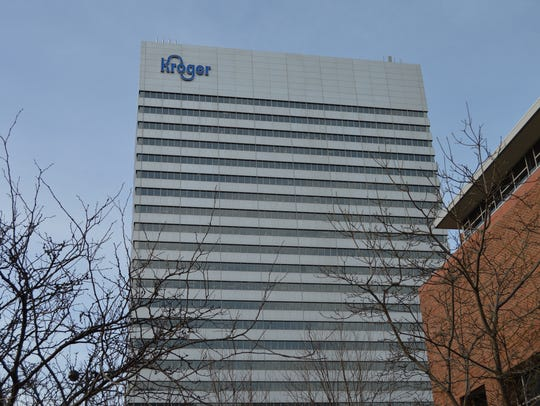 Kroger's headquarters in Downtown.
