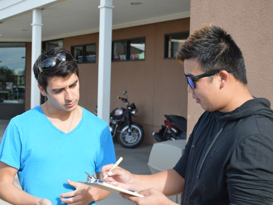 NMSU Chi Epsilon engineering students were trained