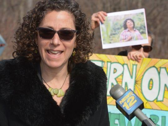 Ossining Supervisor Dana Levenberg spoke out against
