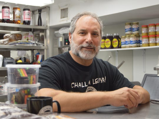 Warren Rosenfeld, ower of Rosenfeld's Jewish Delicatessen in Ocean City, recently expanded with a food truck.