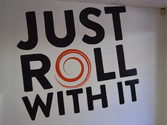 "Billig says, ""it's all in the roll,"" which are each"