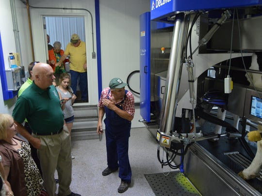 Robotic milking systems allow for flexibility for people and cows.