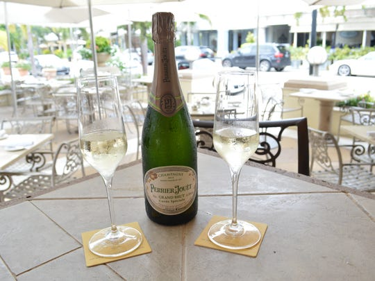 On Tuesdays, Campiello offers $5 Perrier Jouet champagne at 5 p.m.