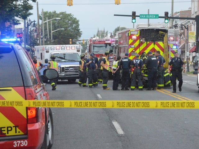Dirt bike rider dies after crash with firetruck in Wilmington