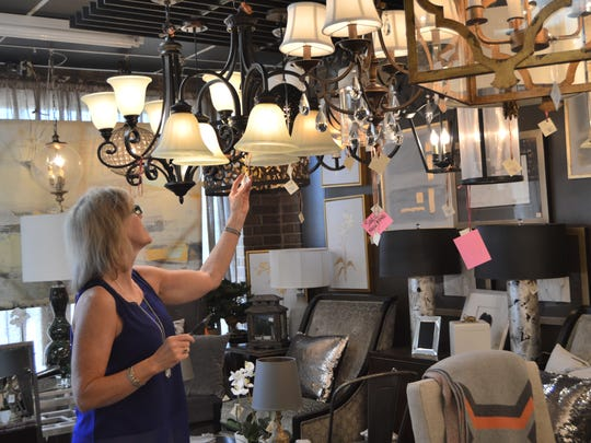 """We have thousands of lights in our showroom, and each one caters to someone's unique preference,"" said Kathy Ward."