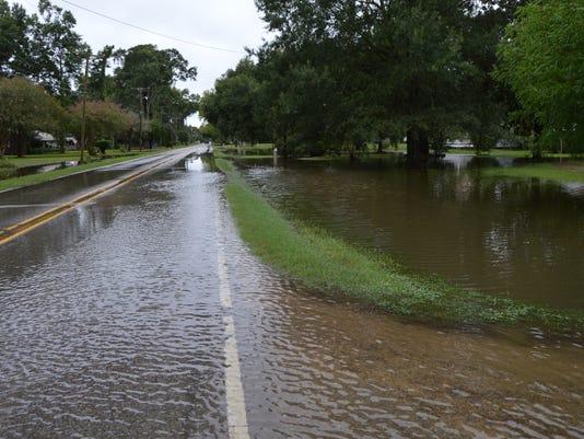 Marksville flood, 2016