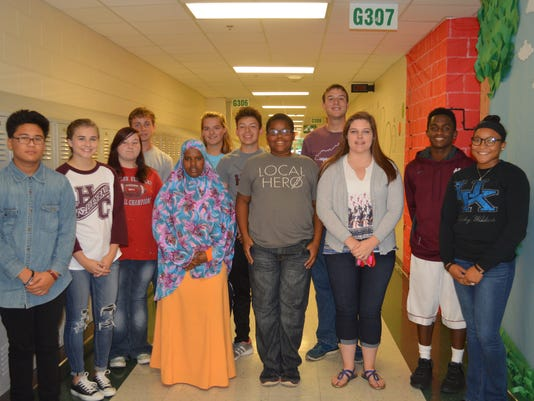 Henderson County October Students of the Month