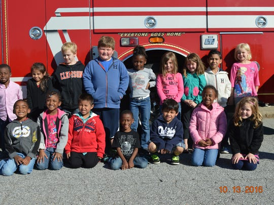 Long Cane Primary School students studies fire safety