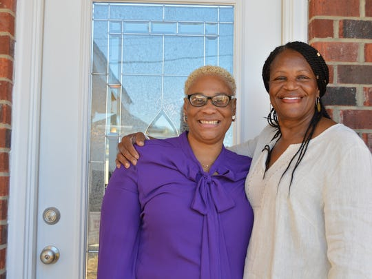 "Zena Washington stands with Barbara Dashiell, executive director of Inner City Revitalization Corporation. In 2016, Zena was able to go ""from homeless to homeowner"" with the help of ICRC."