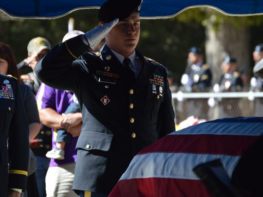 Photos from the funeral service for Anacoco resident Sergeant James Edward Martin. The Korean War hero was laid to rest this weekend, nearly 66 years after his death during the battle of Chosin Reservoir in 1950.