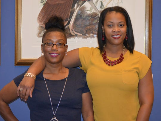 Kala Jenkins and Quaneice Perry