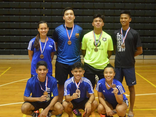 NextGen finished third  in the First Annual Co-Ed Futsal