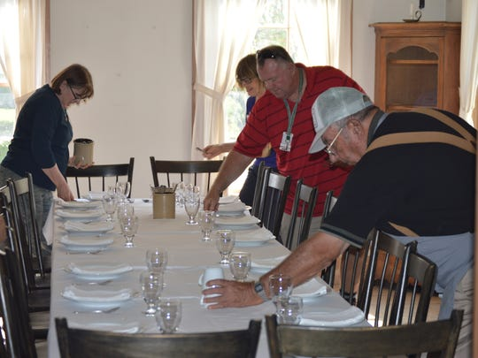 The Wade House historic site in Greenbush will be hosting Hearthside Dinners, a foodways program in which participants will have the opportunity to enjoy a delicious hearth-cooked meal, prepared with their own hands.
