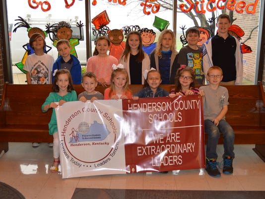 Niagara Elementary February leaders of the month