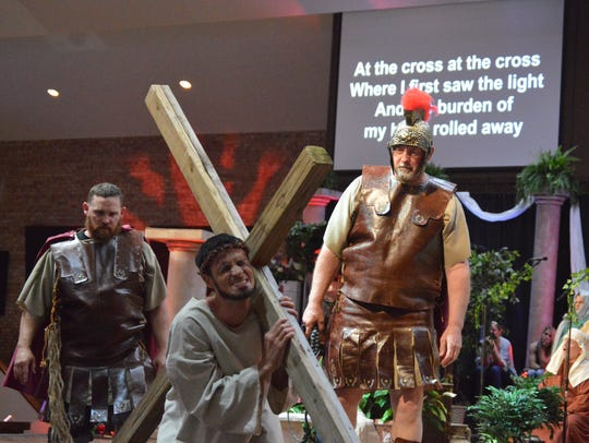 "The passion of Jesus' crucifixion and resurrection will come to life April 19, 20 and 21, when members of Faith Baptist Church present ""Victorious"" at the church, 3001 Southwest Parkway. The dramatic presentation is free, as is child care for children age 4 and younger."