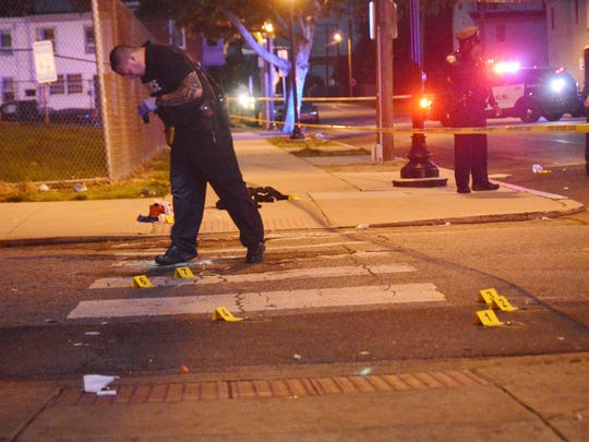A 50-year-old man is in stable condition following a shooting Sunday night in Wilmington.