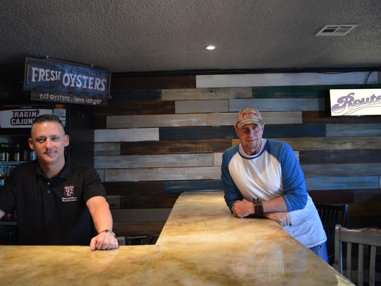 Owners Bert Istre (left) and Rusty Hebert (right) are proud to offer live music, boiled crawfish and great hospitality at their neighborhood-style bar, Route 92.