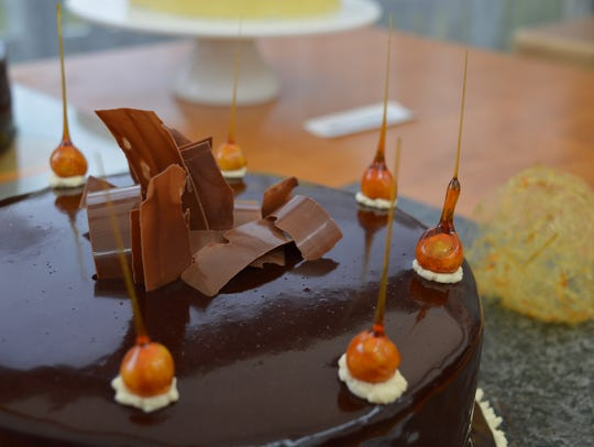 One of the creations on 'The Great British Baking Show.'