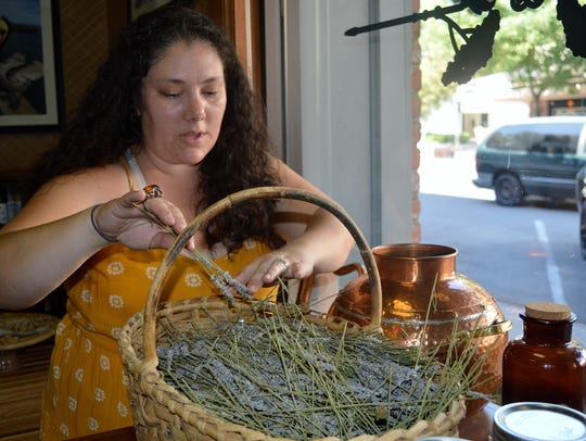 April Lancaster, owner of Organic Apothecary and Communitique