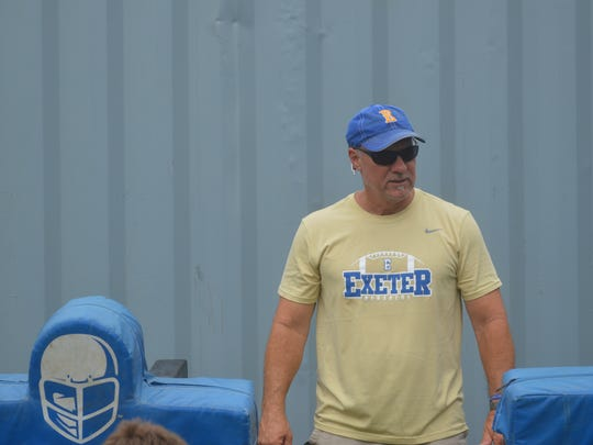 Keirsten Lamb has returned to his alma mater to lead the Exeter Monarchs football program.