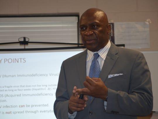 Edward Jackson of the University of Alabama Center