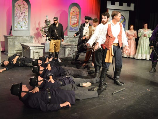 Local theaters offer a variety of plays going on throughout the year.