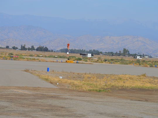 Sequoia Field Airport in north Tulare county.