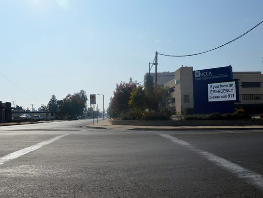 Tulare Regional Medical Center is closed to the public.