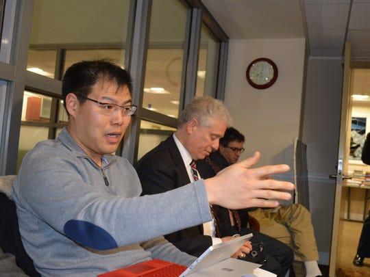 Jonathan Wang, of Purchase, had urged the county to