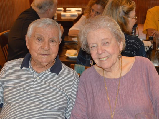 Frank and Irene Moretti attended the April 10 luncheon