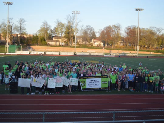 A Stigma Free Rally Was Held at Ramsey High School