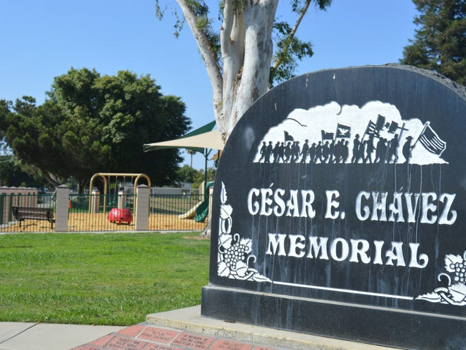 Improvements at Cesar Chavez Park include the installation