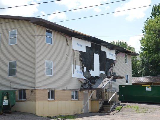 Over three weeks since the fire, the apartment building