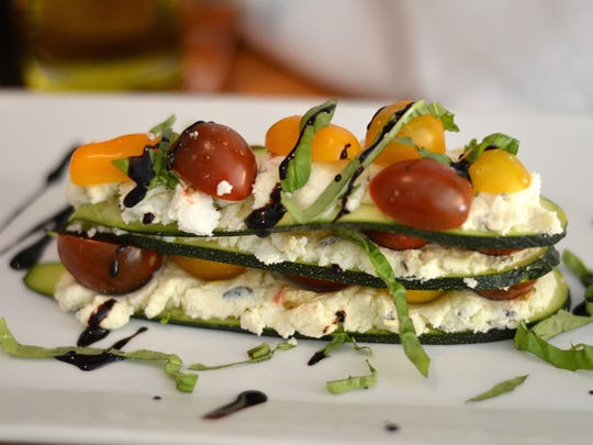 Zucchini lasagna is a fresh, no-heat version of the classic Italian entree.