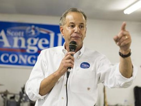 Scott Angelle, a Republican, is a candidate in the