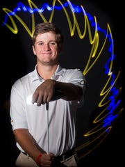 Garrett Barber, The Pine School, all-area boys golf