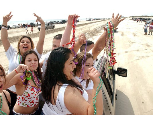 4 Padre Island spring break