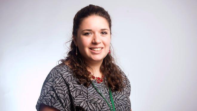 Press & Sun-Bulletin reporter Maggie Gilroy.